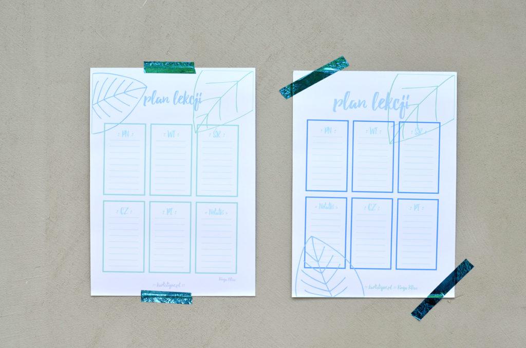 Minimalistyczne plany lekcji do pobrania, za darmo.