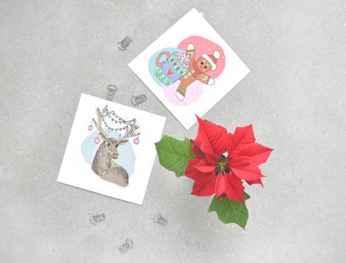 Piękne i oryginalne, kartki świąteczne do pobrania za darmo. Wydrukuj lub wysyłaj przez Internet