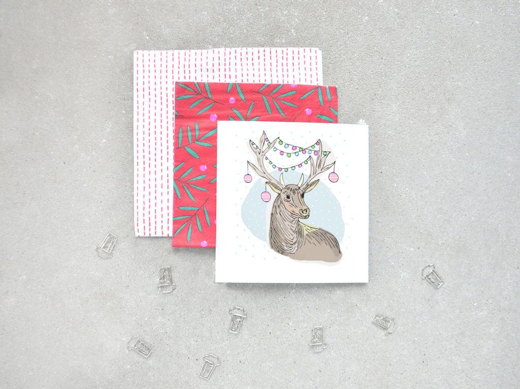 Śliczne, zimowe, bożonarodzeniowe kartki do pobrania i do druku za darmo.