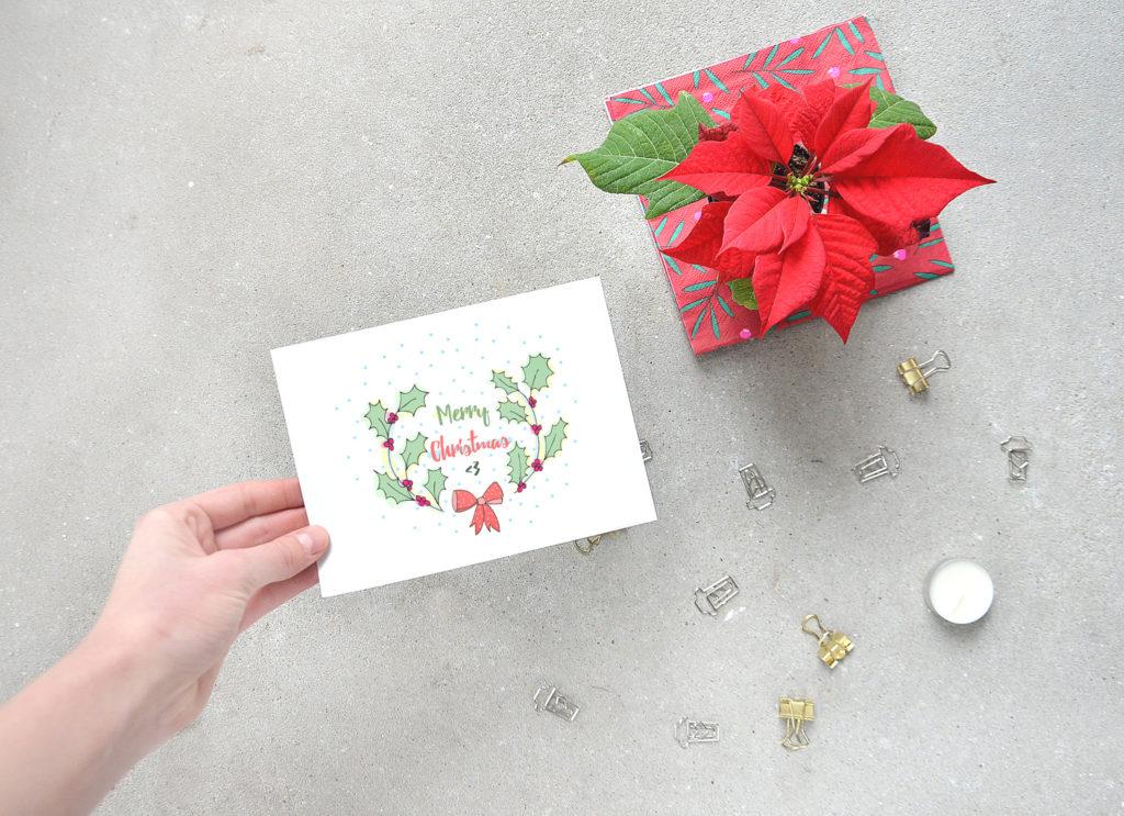 Świąteczne kartki do pobrania i wydruku za darmo. Oryginalne, kolorowe, nowoczesne grafiki i motywy.