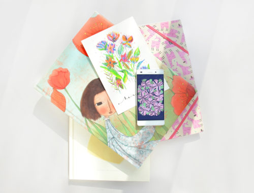 Kobiece tapety na telefon do pobrania - graficzne, pozytywne wzory