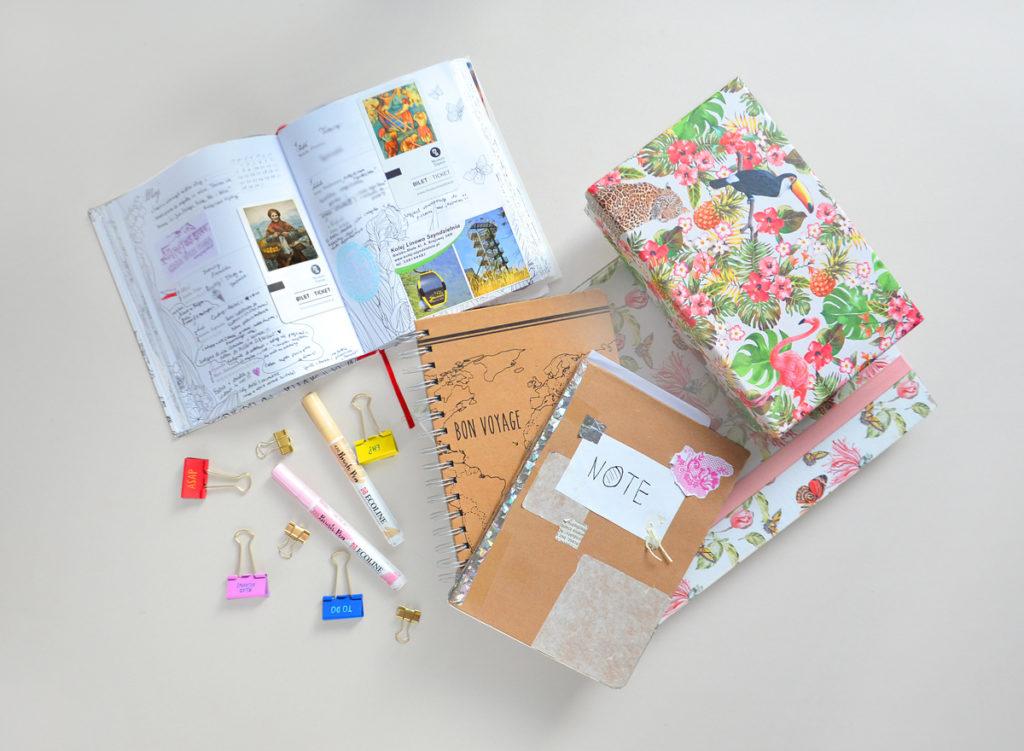 Jak zachować wspomnienia z wakacji na dłużej? Notatki podróżnicze, travel plannery - czy warto je używać? Jak robić zdjęcia z głową?