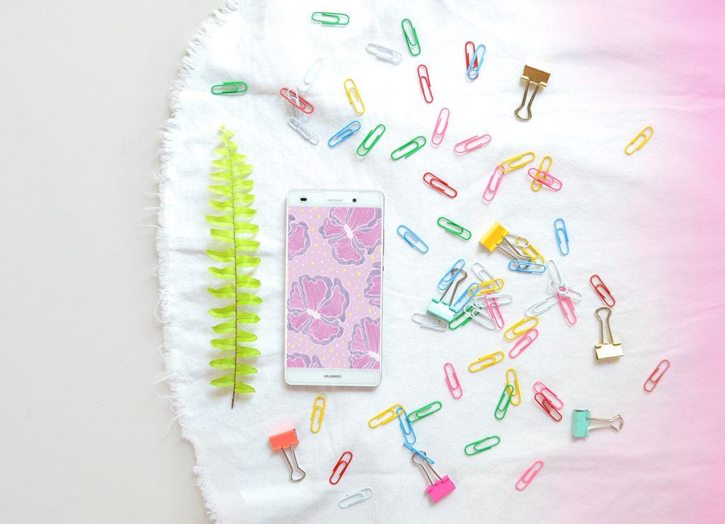 Śliczne tapety na telefon do pobrania za darmo - graficzne i kolorowe wzory. Pastelowe motywy