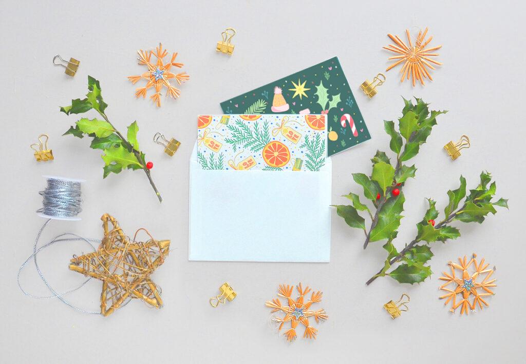 Kartki świąteczne do pobrania i wydrukowania za darmo. Oryginalne graficzne motywy!